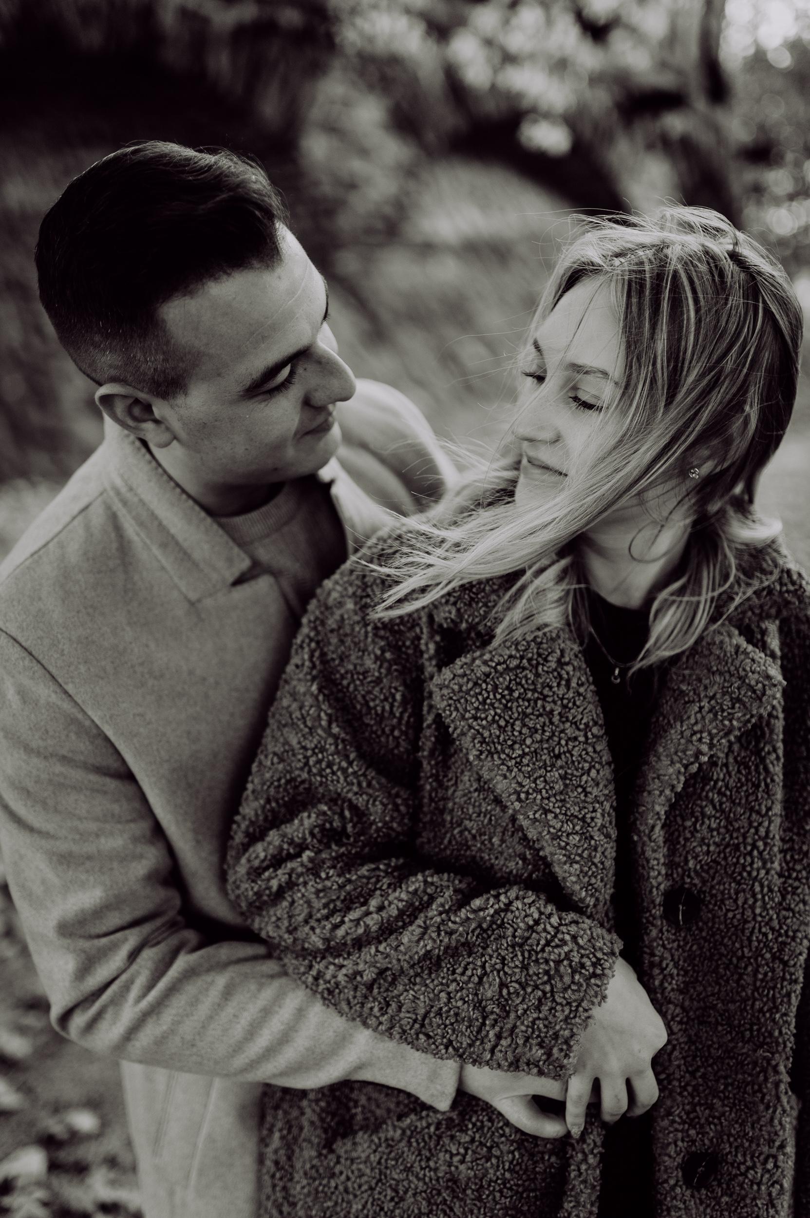 Engagement Shooting im Herbst